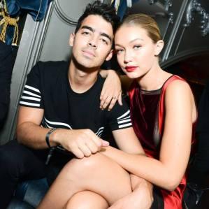 Joe Jonas and Gigi
