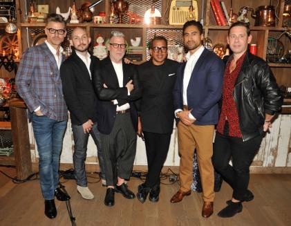 Eric Rutherford, Nick Wooster, Miguel Enamorado, Joe Naufahu, Derek Anderson