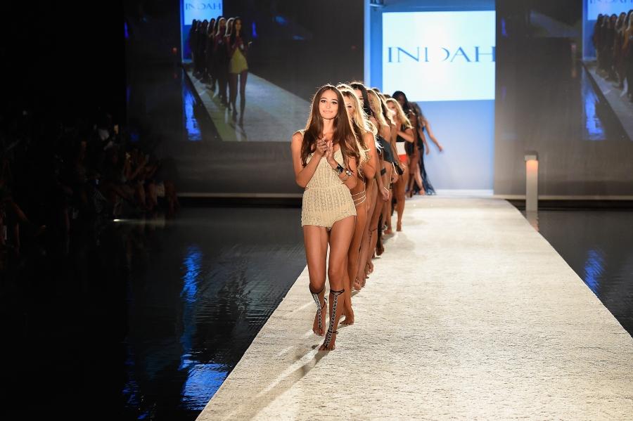 INDAH Clothing Presents Casa INDAH at SwimMiami - Runway