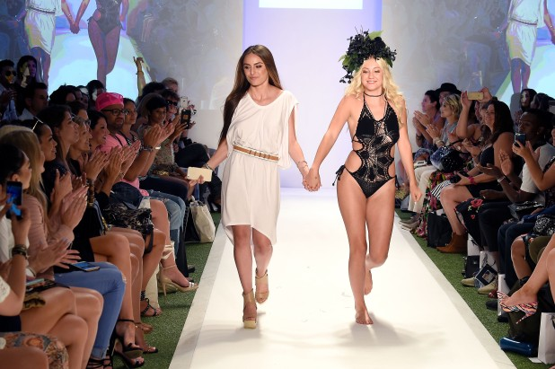 MIAMI, FL - JULY 17: Designer Stephanie Princi walks the runway at Baes and Bikinis 2017 Collection during SwimMiami at The W Hotel South Beach on July 17, 2016 in Miami, Florida. (Photo by Frazer Harrison/Getty Images for Baes And Bikinis)