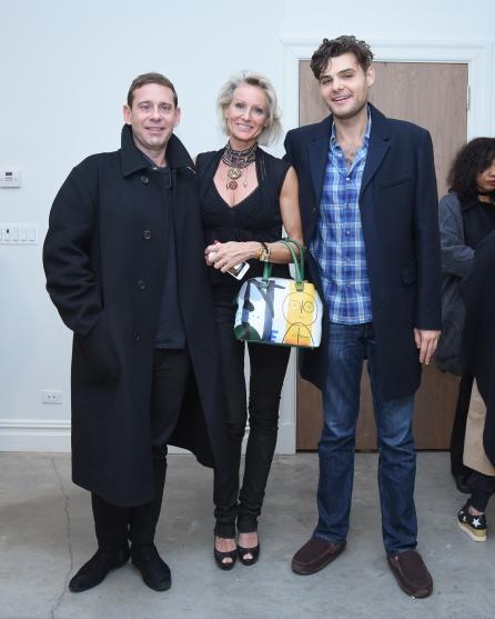 Derek Anderson, Caroline Dechamby, Noah Berman