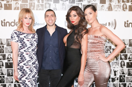 Zackary Drucker, Sean Rad, Yasmine Petty, Carmen Carrera